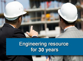 Engineering resource for 25 years